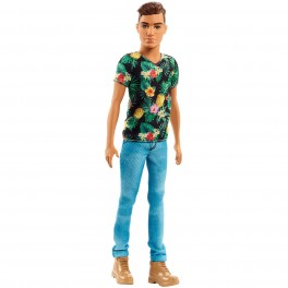 Кукла мальчик Кен, Ken Fashionistas Doll 15 Tropical Vibes